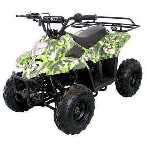 Green Camo Small Kids four wheelers