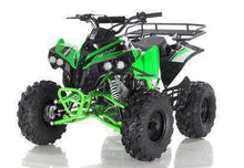 Green Gas powered Apollo Sportrax ATVs
