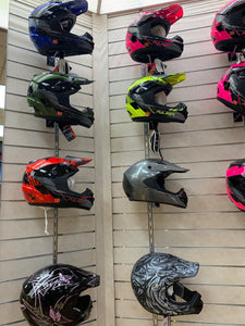 Adult sized Motocross Helmets for sale