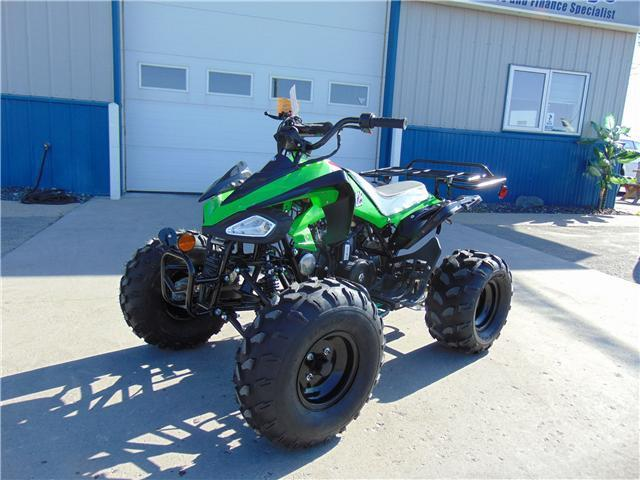 Nitro 125cc Gas Powered Youth Four Wheelers - Q9PowerSportsUSA.com