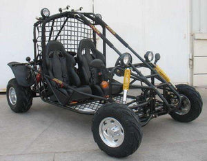 The Double Seat Targa 200 Go Karts are Off road Ready - Q9PowerSportsUSA.com