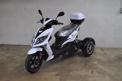 ICEBEAR Three Wheeled 50cc Mopeds - Q9 PowerSports USA
