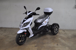 ICEBEAR Three Wheeled Gas Powered 50cc Mopeds - Q9PowerSportsUSA.com