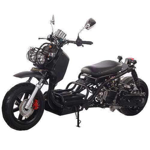 Black 50cc Maddog Scooters for sale