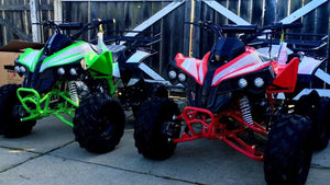 cheap priced Apollo Sportrax ATVs