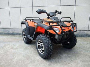 Orange Monster 300cc 4x4 ATVs