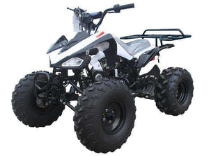 White 125cc Youth Four Wheelers on sale
