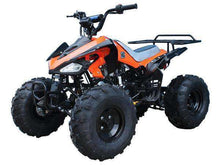 Orange Gas Powered 125cc Youth Four Wheelers