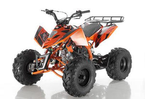 Orange Apollo Sniper 125 ATV