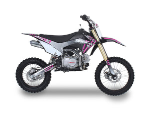 Pink 125cc Youth Dirt Bikes