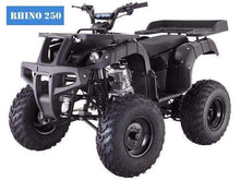 Full Size Rhino 250cc Utility Four Wheeler with free shipping - Q9 PowerSports USA - Q9 PowerSports USA
