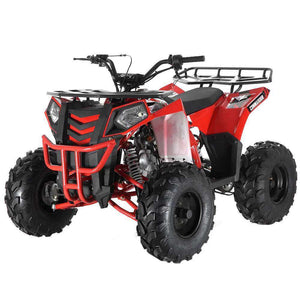 Red 125cc Apollo Commander ATV