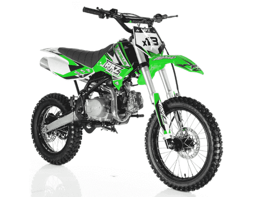 Apollo DBX18 125cc Gas Powered Youth Dirt Bikes - Q9PowerSportsUSA.com