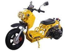 Yellow 50cc Maddog Scooters