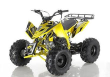 Yellow Apollo Sniper 125 ATV 4 sale
