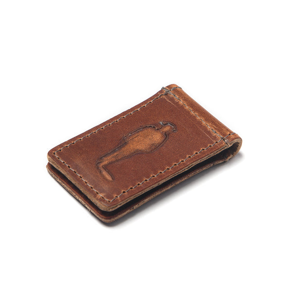 JW Leather Money Clip