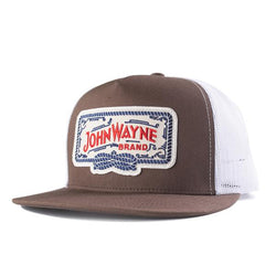 Flat Bill Roped Off Trucker Hat