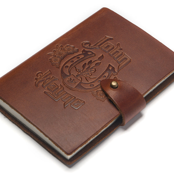 JW Western Rose Leather Notebook