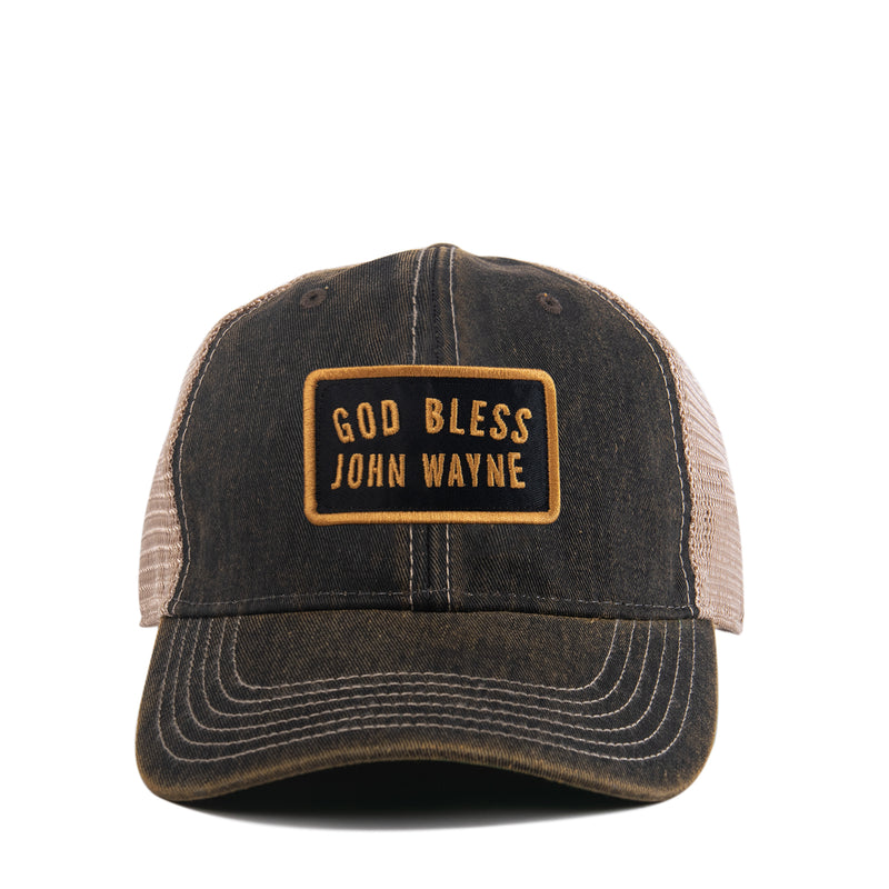 God Bless Vintage Trucker Hat