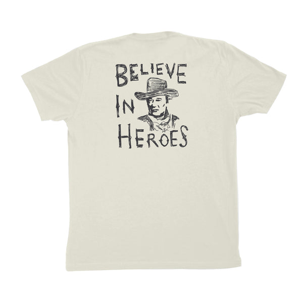 Believe In Heroes Tee