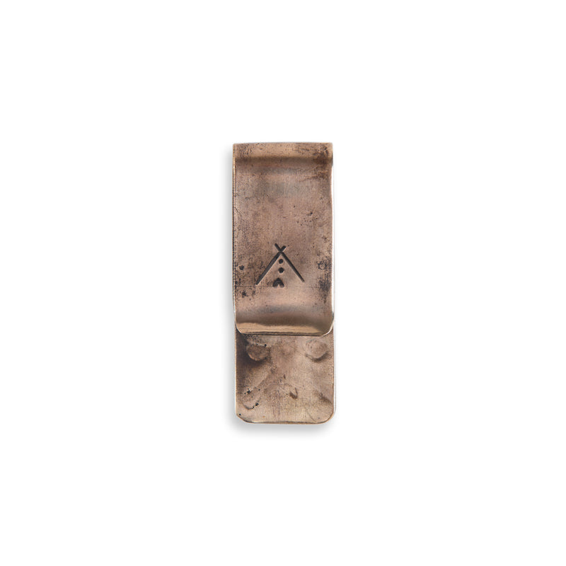 Stamped Money Clip