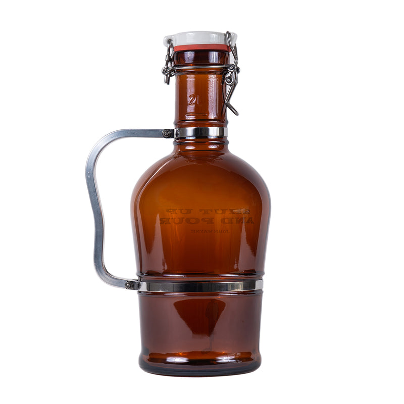 Shut Up And Pour Beer Growler