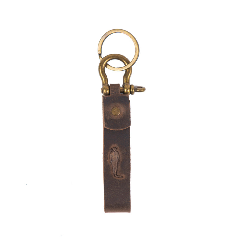 JW Silhouette Shackle Key Chain