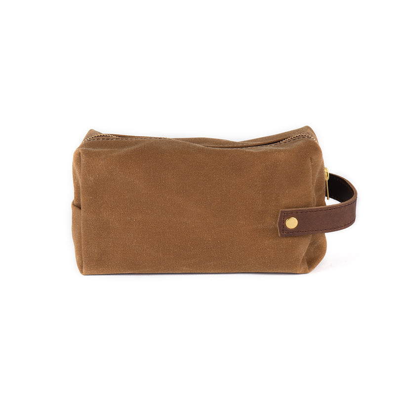 JW Wax Coated Canvas Pouch