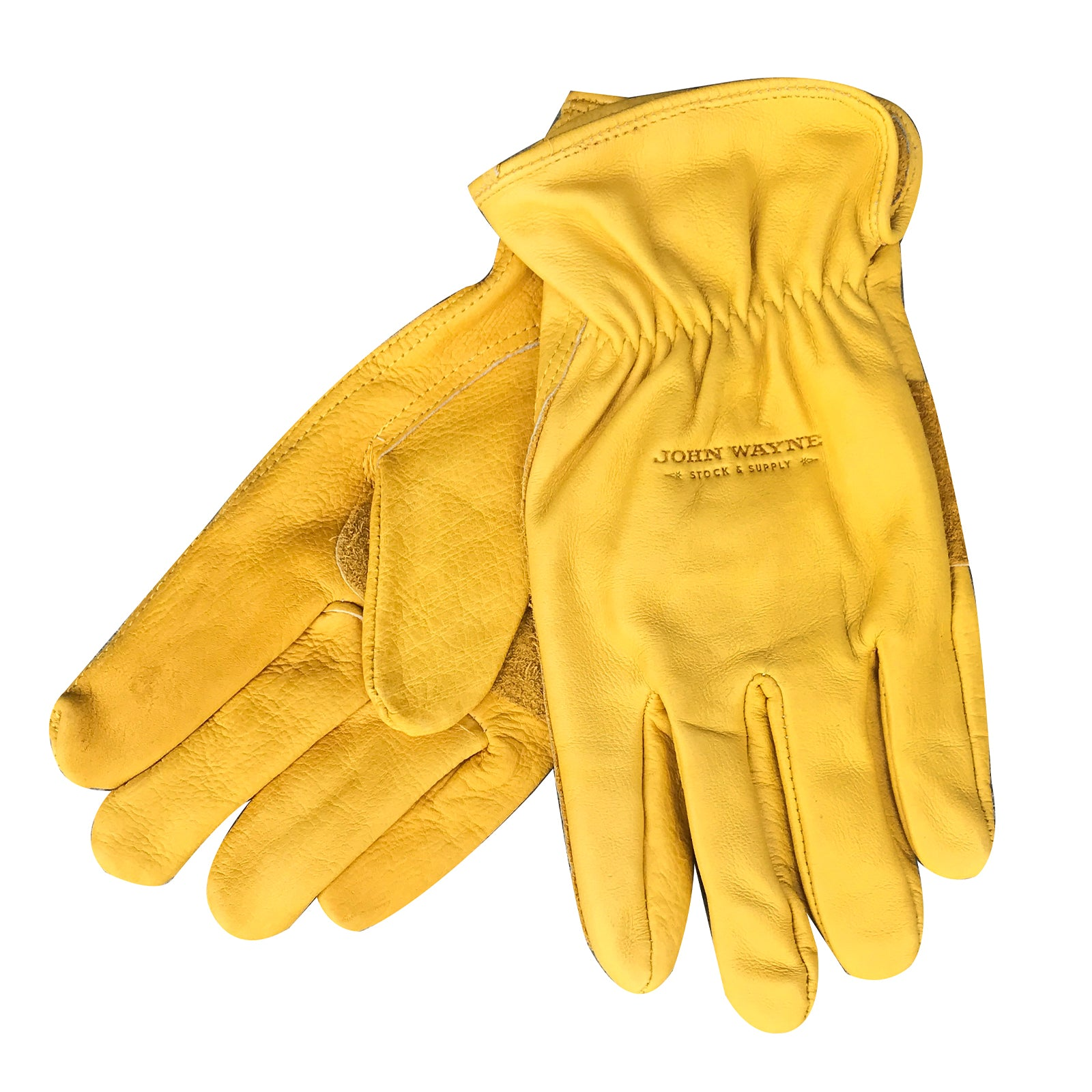John Wayne Leather Work Gloves