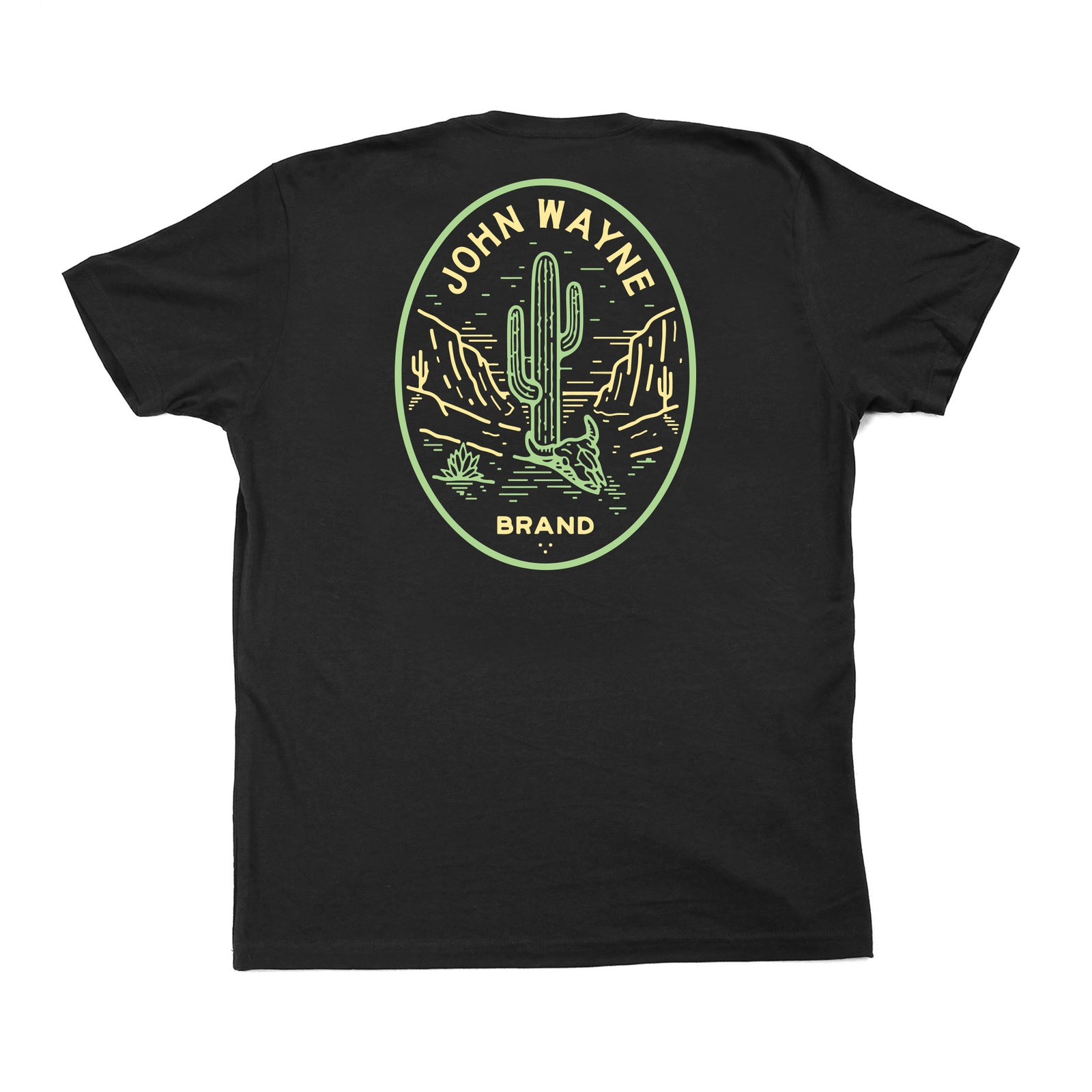 Official John Wayne Black Desert Tee