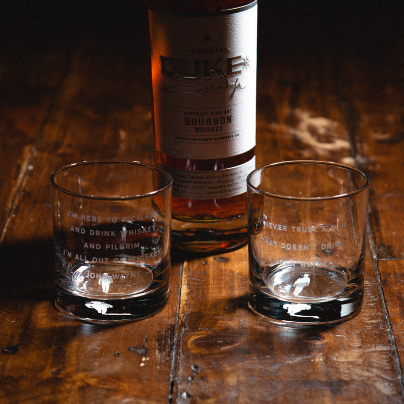 Decanter & Whiskey Glass Set