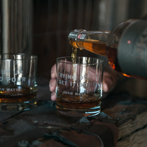 The Cowboy Whiskey Glass Set Series #8