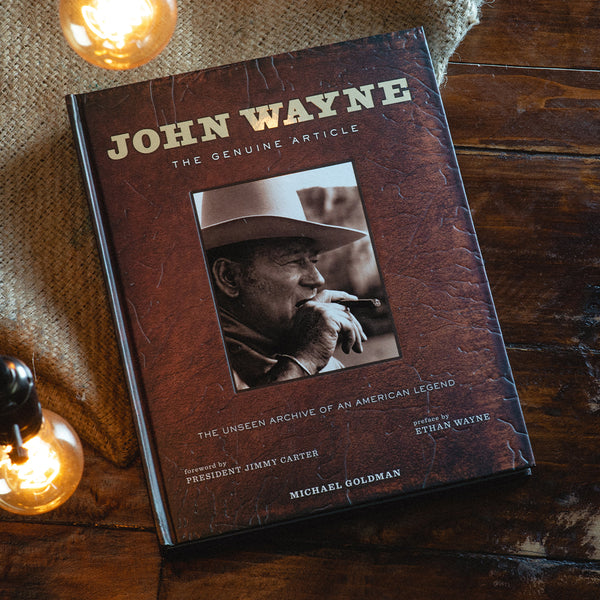 "John Wayne's ""The Genuine Article"" Book"