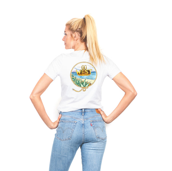 Women's Go West Short Sleeve Tee