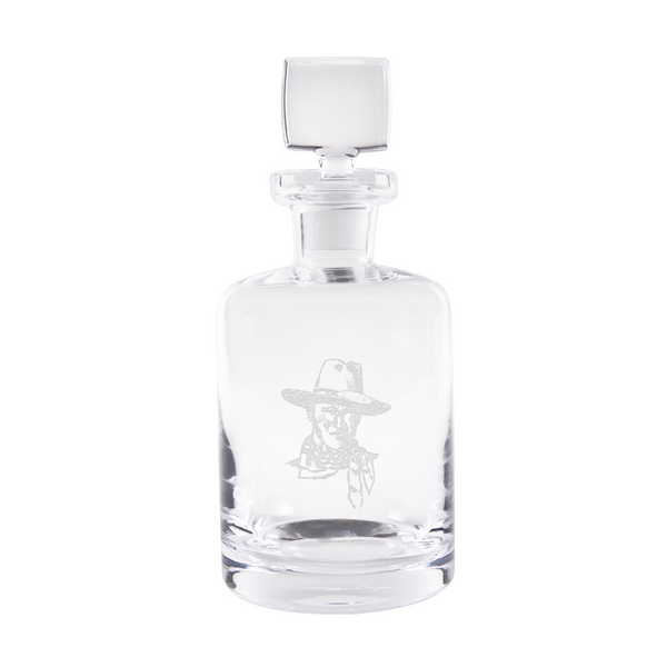 JW Flaming Sketch Decanter