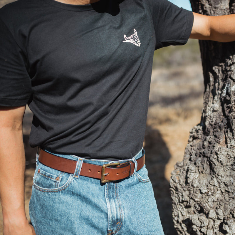 The John Wayne Working Man's Belt - Black