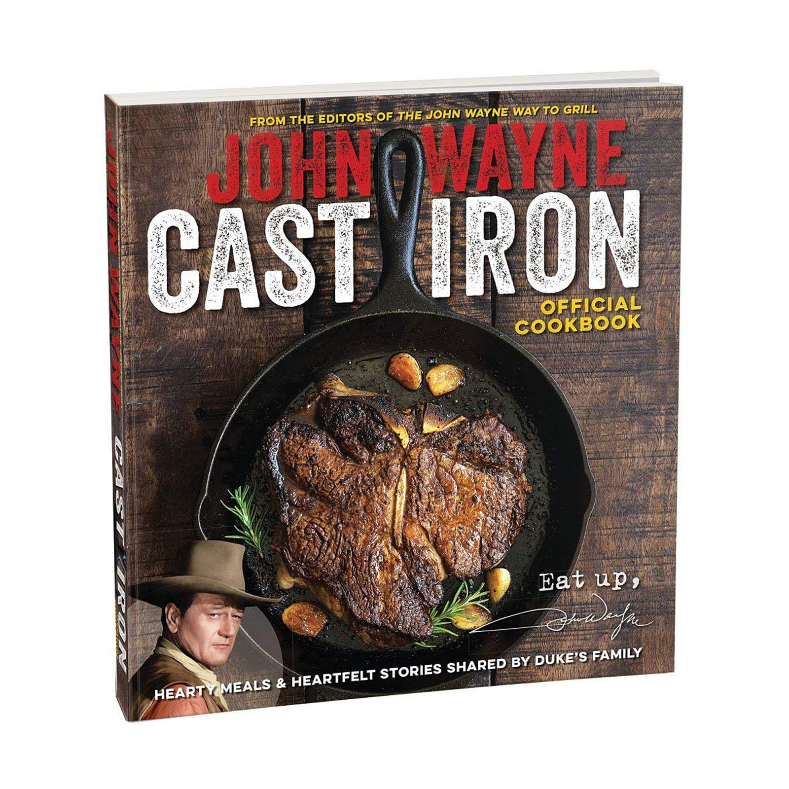 John Wayne Cast Iron Official Cookbook – JOHN WAYNE BRAND SHOP