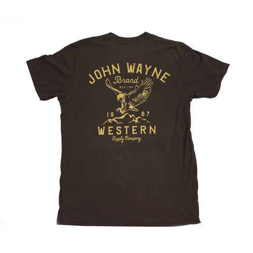 Official John Wayne Brown Eagle Tee