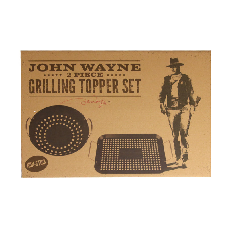 Official John Wayne John Wayne 2 Piece Grilling Topper Set
