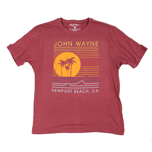 Official John Wayne Men's Red Line Tee