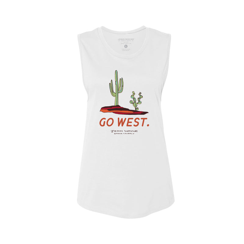 Women's Go West Tank FORT WORTH