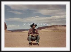 "Official John Wayne JOHN WAYNE ON SET OF ""THE SEARCHERS,"" 1955"