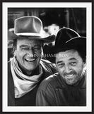 Official John Wayne JOHN WAYNE AND ROBERT MITCHUM, 1967