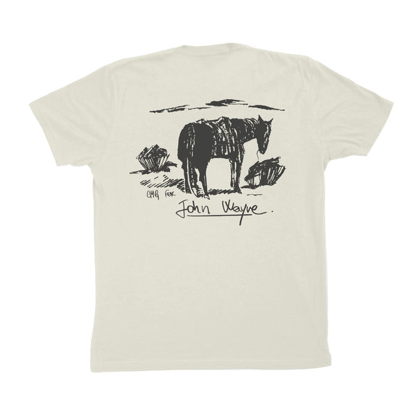 CMG Greenbroke Men's Tee- Vintage White