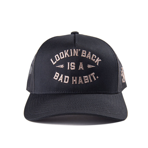 Looking Back Trucker Hat