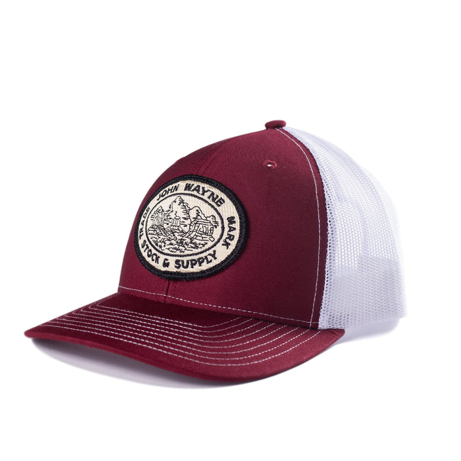 Stock & Supply Hat- Maroon