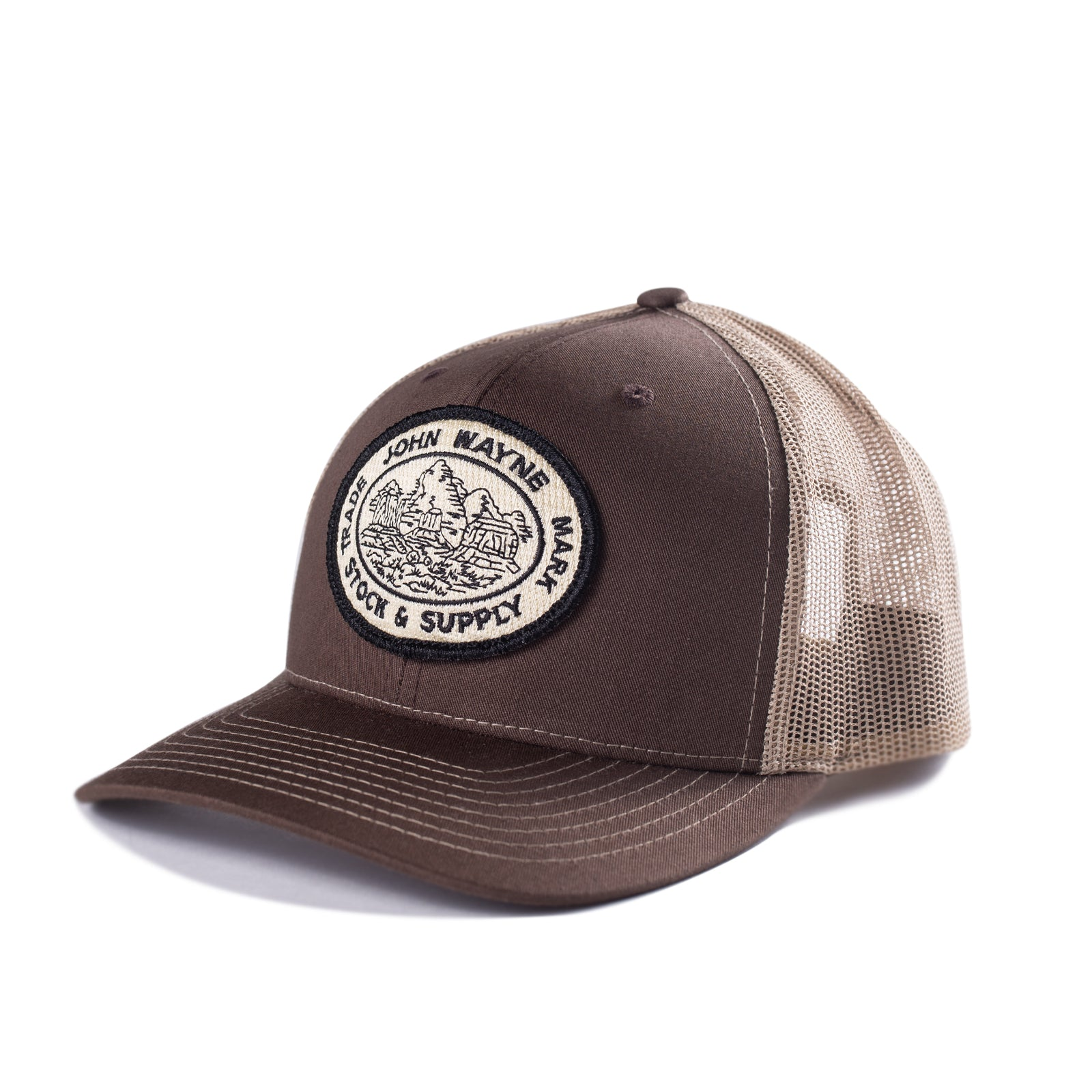 Stock & Supply Hat- Brown
