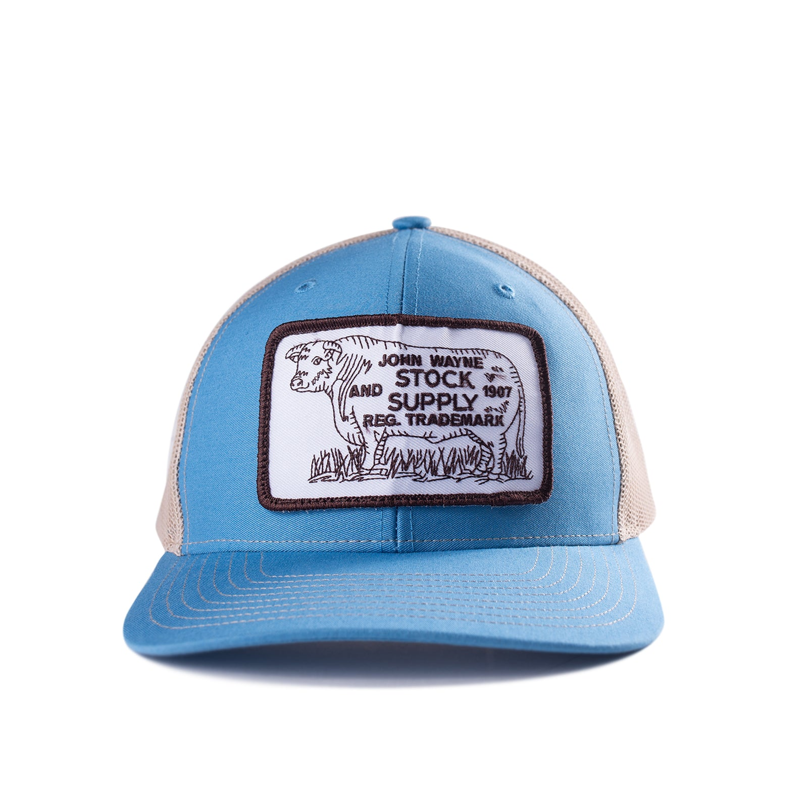 Cattle Hat- Light Blue