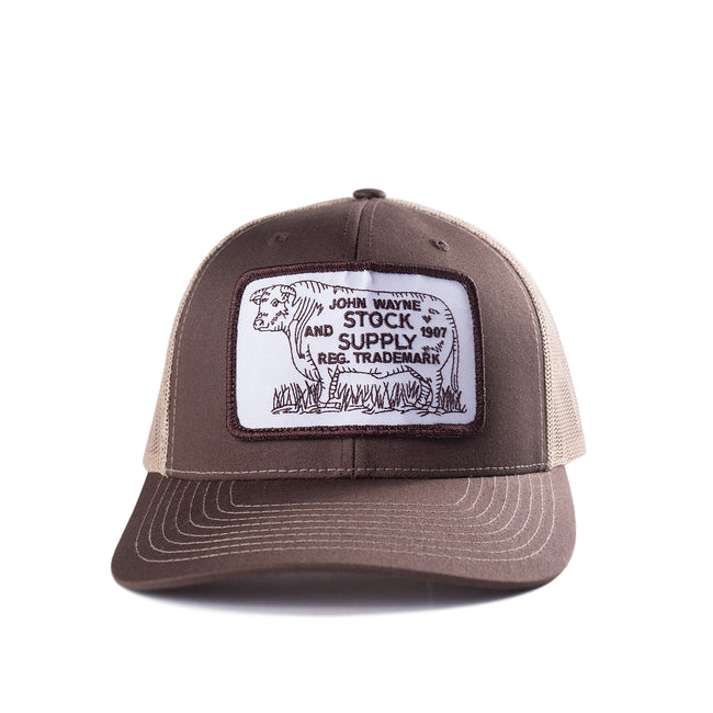 Cattle Hat- Brown