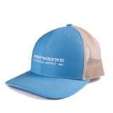 Stock & Supply Classic Trucker Hat- Blue/Grey
